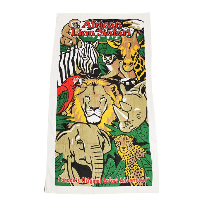 African Lion Safari Towel