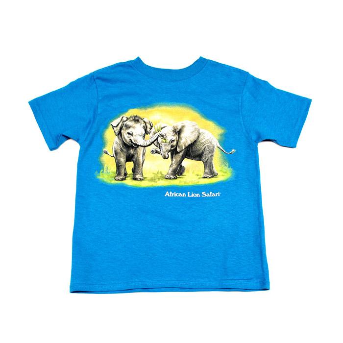 Elephant Cousins Blue