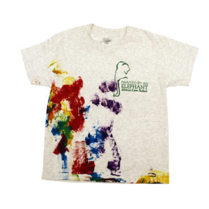 Elephant painted tshirt