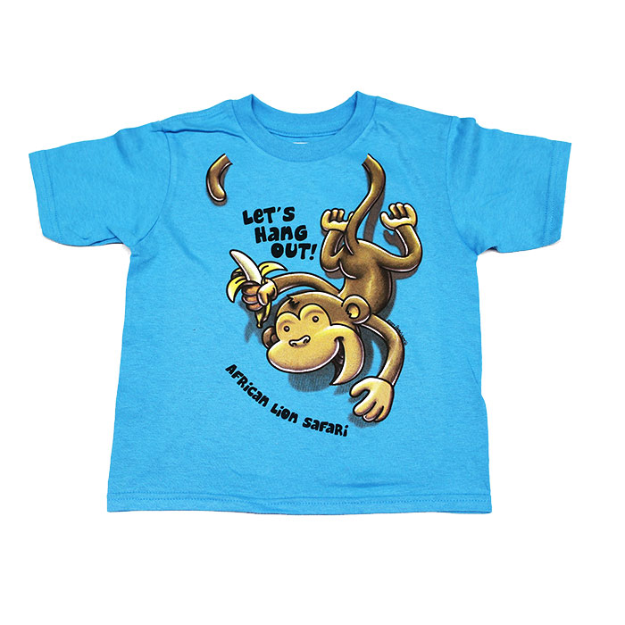 Hanging Out Monkey TShirt