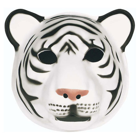 Animal Mask White Tiger