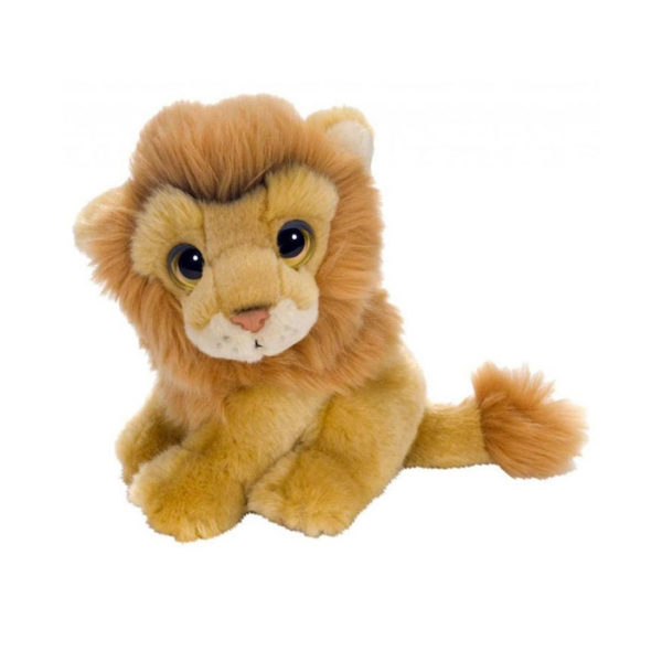 lion plush natural