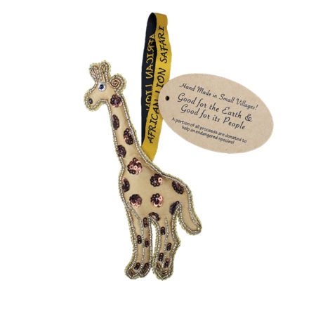 Small Villages Ornament Giraffe