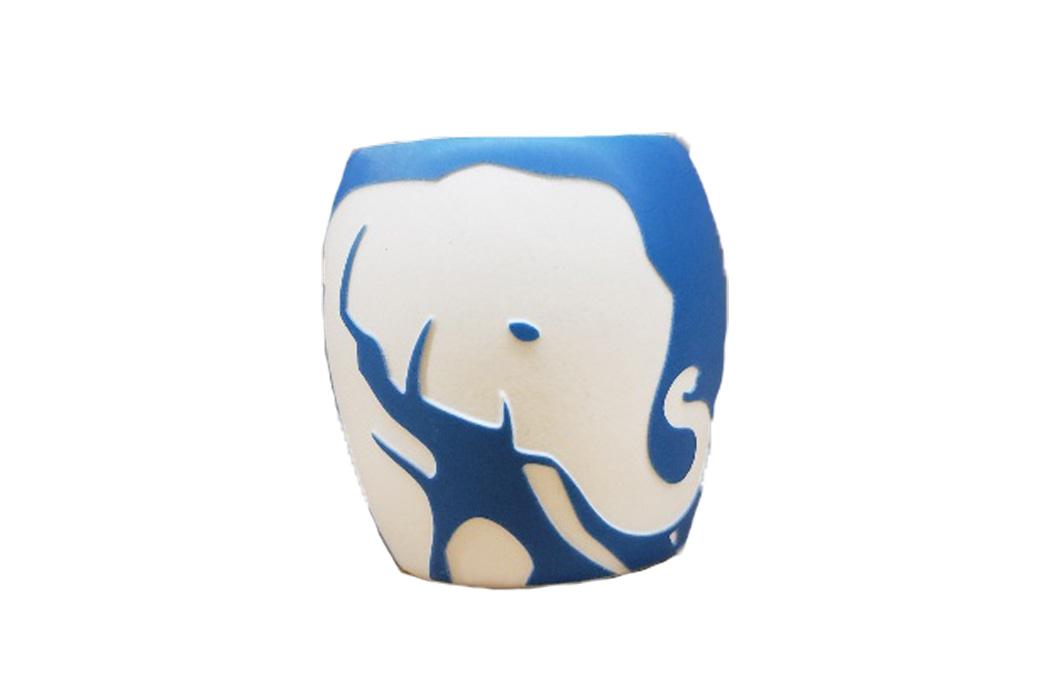 Blue Elephant shotglasscut